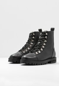 Office - ANSEL - Lace-up ankle boots - black - 4