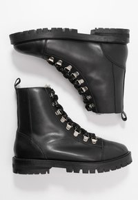 Office - ANSEL - Lace-up ankle boots - black - 3