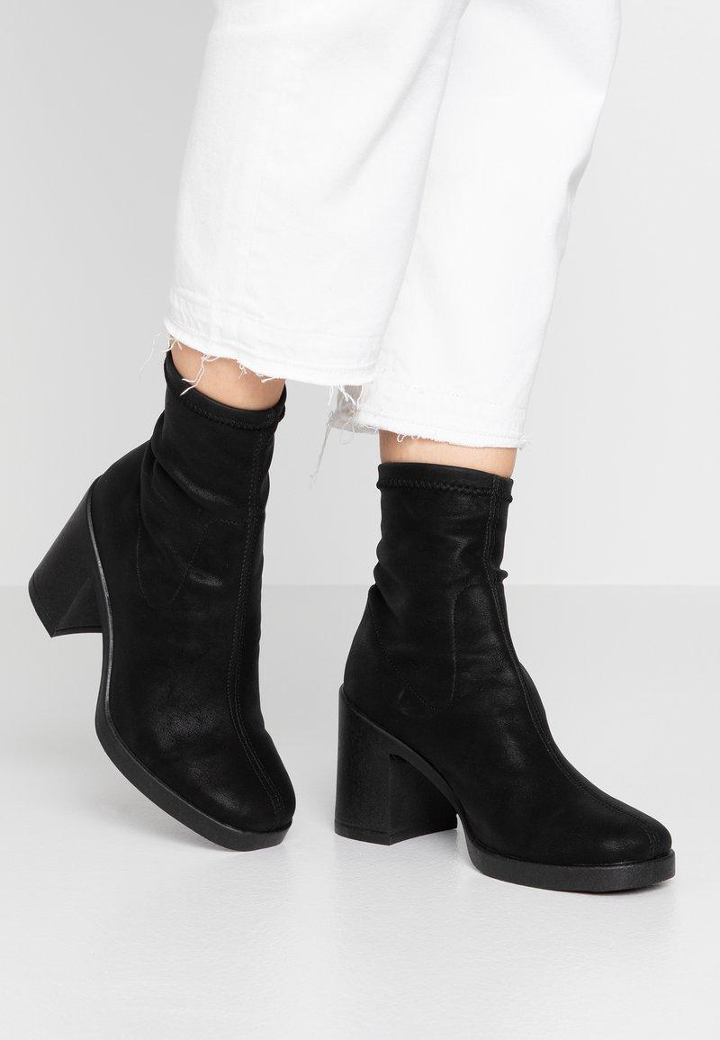 Office - ARTICHOKE - Ankelboots med høye hæler - black