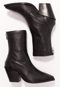 Office - ASHEN - Cowboy/biker ankle boot - black - 3