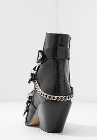 Office - ASTERISK - Cowboy/biker ankle boot - black - 5