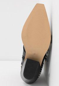 Office - ASTERISK - Cowboy/biker ankle boot - black - 6