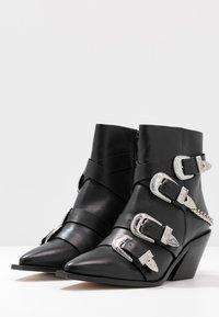 Office - ASTERISK - Cowboy/biker ankle boot - black - 4