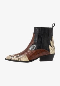 Office - AMELIE - Cowboy/biker ankle boot - black - 1