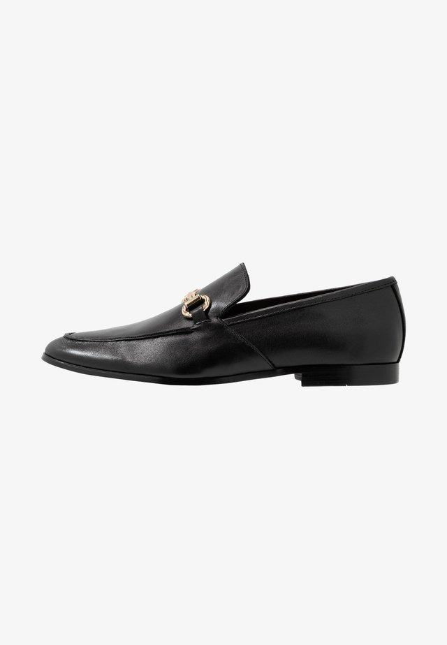LEMMING SNAFFLE LOAFER - Puvunkengät - black