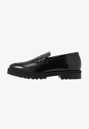 CLARK LOAFER - Slip-ons - black