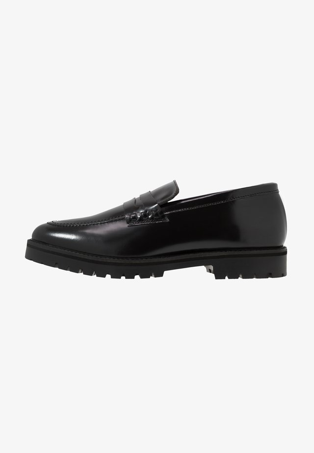 CLARK LOAFER - Slippers - black