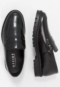 Office - CLARK LOAFER - Slip-ons - black - 1