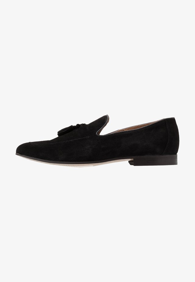 MANTA LOAFER - Slip-ons - black