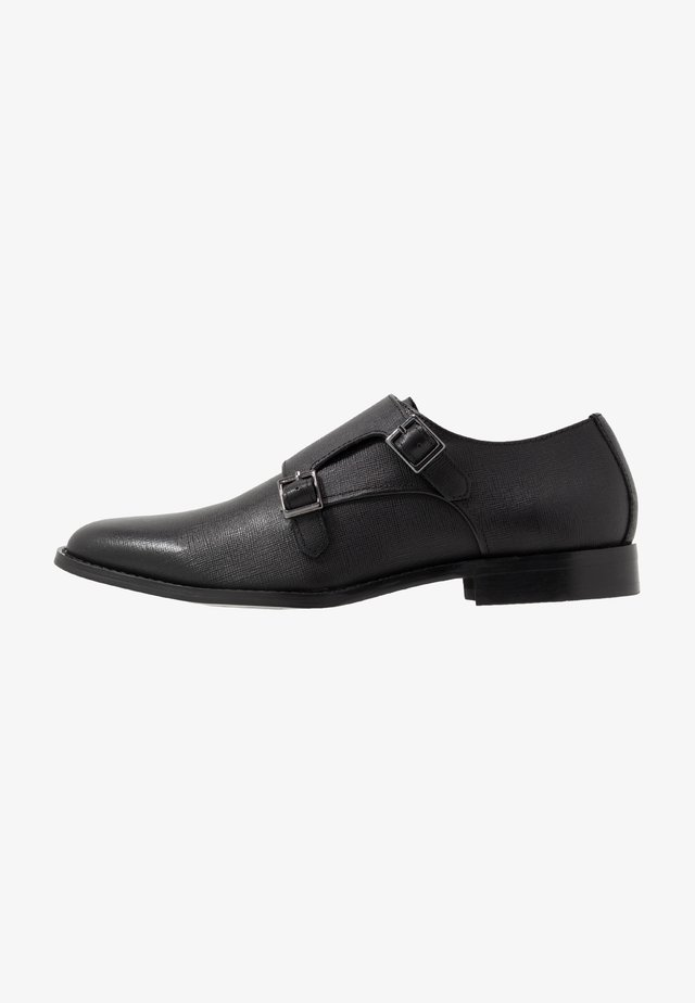 MILO MONK - Business loafers - black