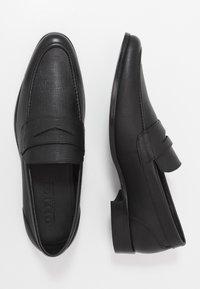 Office - MARIO LOAFER - Elegantní nazouvací boty - black - 1