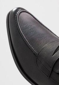 Office - MARIO LOAFER - Elegantní nazouvací boty - black - 5
