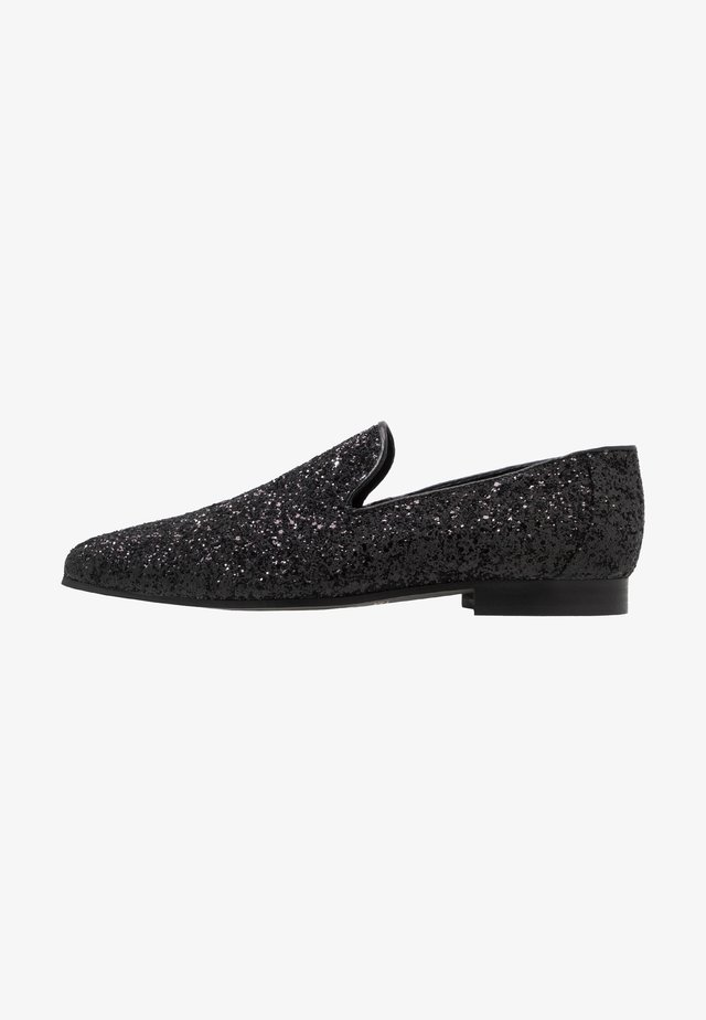 MAGPIE - Loafers - black glitter