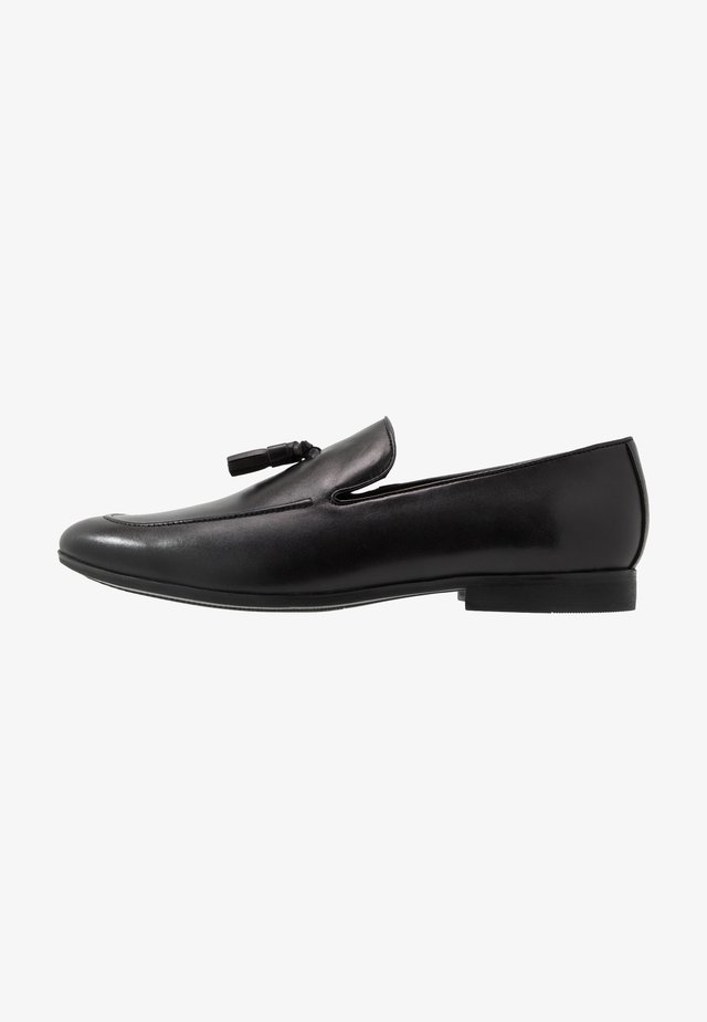 TASSLE LOAFER - Smart slip-ons - black
