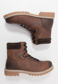 Office - BENTON CASUAL HIKER - Lace-up ankle boots - brown - 1