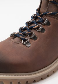 Office - BENTON CASUAL HIKER - Lace-up ankle boots - brown - 5