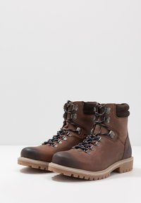 Office - BENTON CASUAL HIKER - Lace-up ankle boots - brown - 2