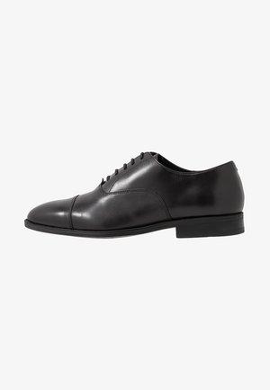 MEMO OXFORD TOE CAP - Business-Schnürer - black