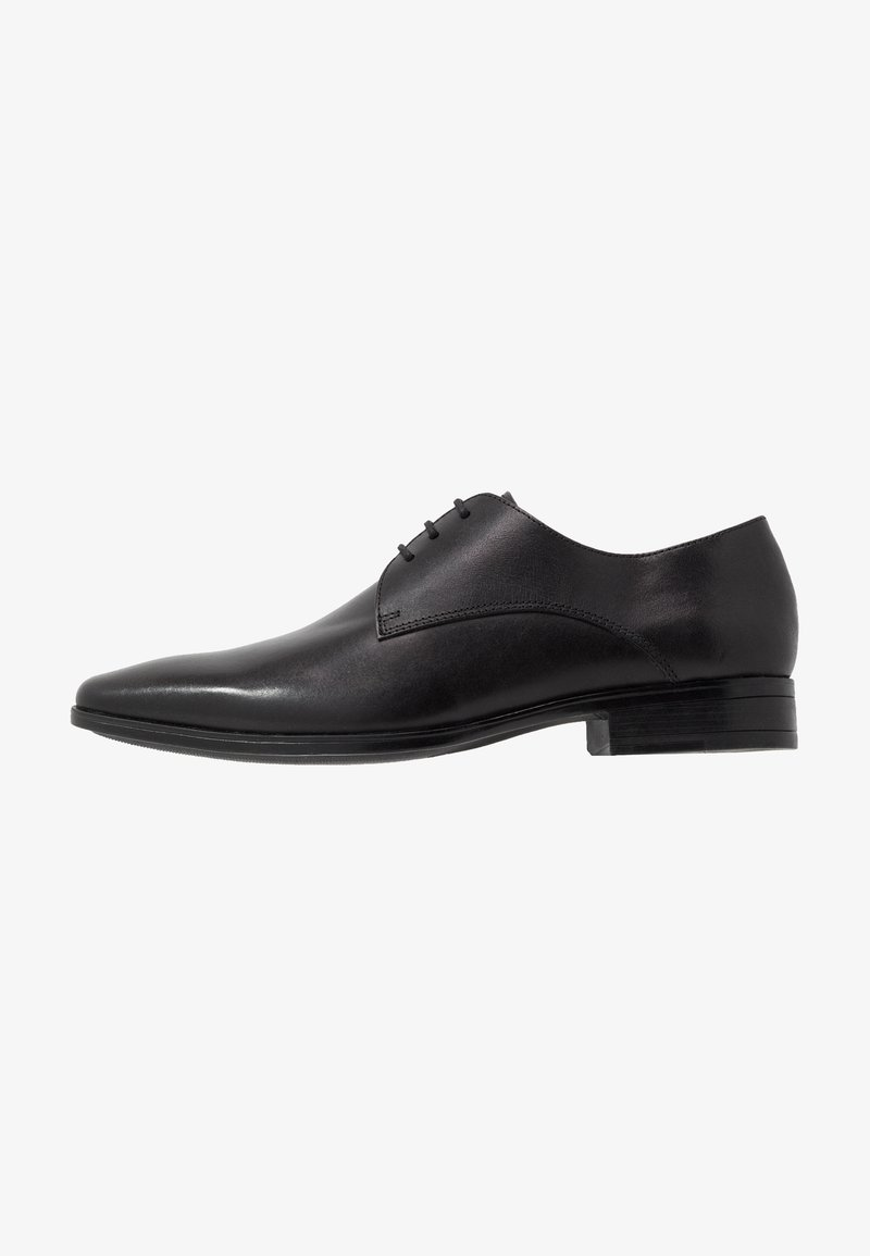 Office - MICRO DERBY - Smart lace-ups - black