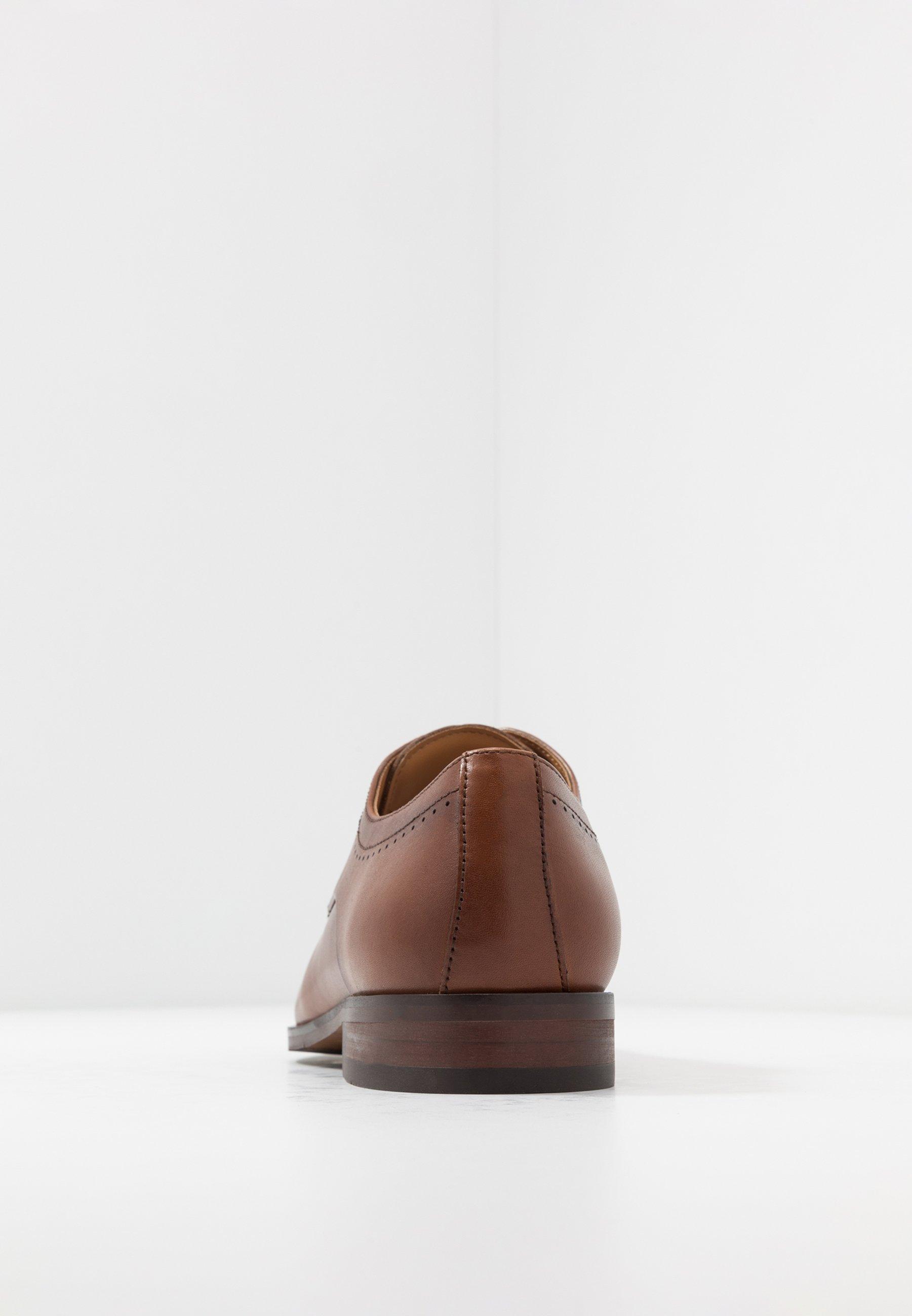 Office Looktoe Cap Formal - Stringate Eleganti Tan