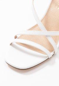 Office Wide Fit - MARGATE - Sandaalit nilkkaremmillä - white - 2
