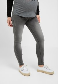 ohma! - HIGH BELLY - Slim fit jeans - dark grey - 0