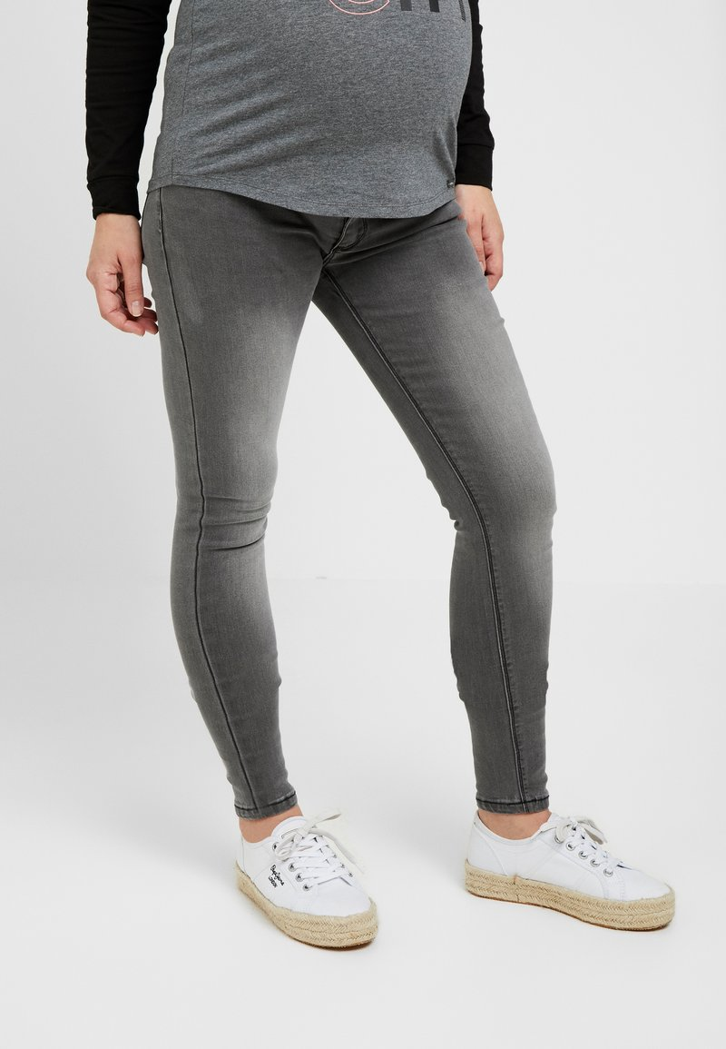 ohma! - HIGH BELLY - Slim fit jeans - dark grey