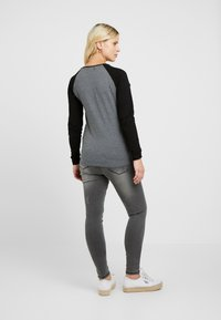 ohma! - HIGH BELLY - Slim fit jeans - dark grey - 2