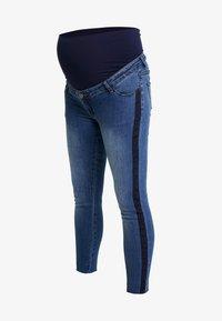 ohma! - CROP WITH RIBBON - Slim fit jeans - indigo - 3