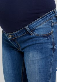 ohma! - HIGH BELLY - Bootcut jeans - light indigo - 4