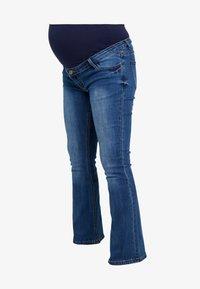 ohma! - HIGH BELLY - Bootcut jeans - light indigo - 3