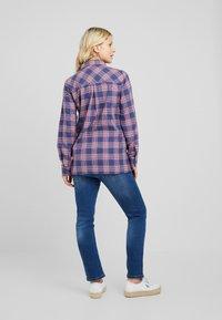 ohma! - HIGH BELLY - Jeans Straight Leg - light indigo - 2