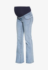 ohma! - FLARED WITH HIGH BELLY - Bootcut jeans - light indigo - 4