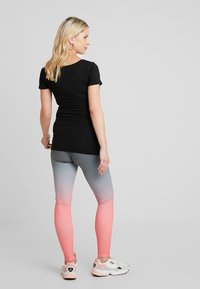 ohma! - SPORT WITH DEGRADE PRINT - Legging - black - 2