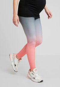 ohma! - SPORT WITH DEGRADE PRINT - Legging - black - 0