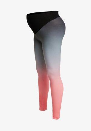 SPORT WITH DEGRADE PRINT - Legging - black