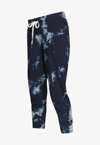 ohma! - TIE&DYE SAROUEL TROUSER WITH LOW BELLY - Tracksuit bottoms - navy - 3