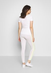ohma! - WITH CONTRAST STRAPS - Legging - light grey - 2