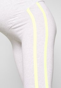 ohma! - WITH CONTRAST STRAPS - Legging - light grey - 4