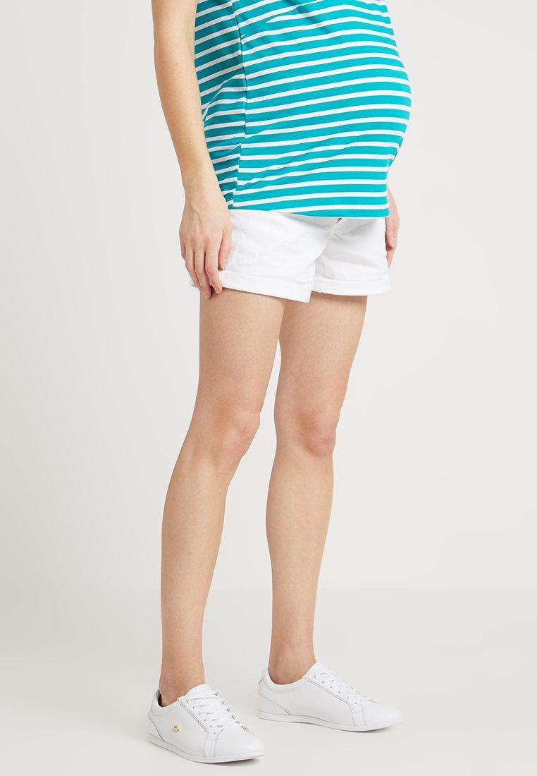 ohma! - Denim shorts - white