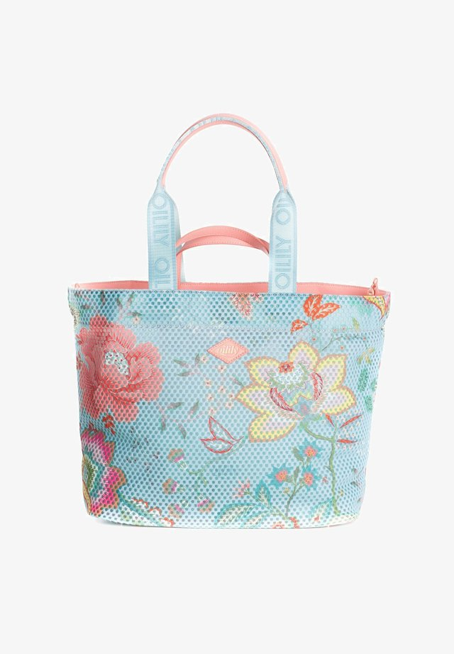 BOMB  - Tote bag - turquoise