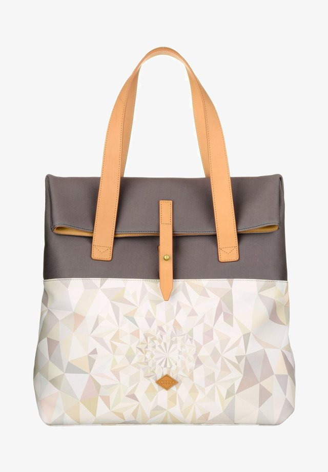 Tote bag - oyster white