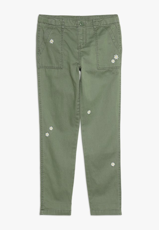 PATCH POCKET PANTS - Jeans Skinny Fit - khaki