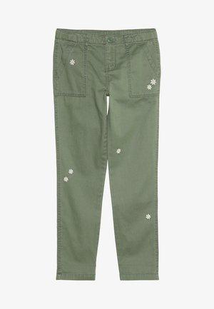 PATCH POCKET PANTS - Jeans Skinny - khaki