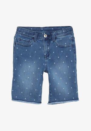 SKIMMER - Jeans Shorts - blue denim