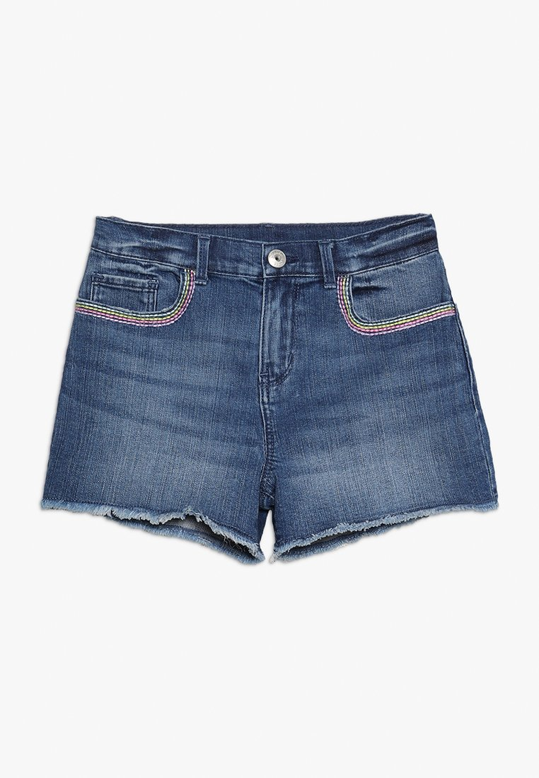 OshKosh - ROLLED  - Jeans Shorts - blue denim