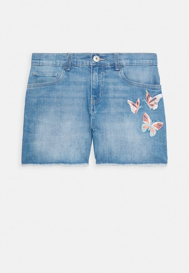GIRLS TEENS - Jeans Shorts - denim