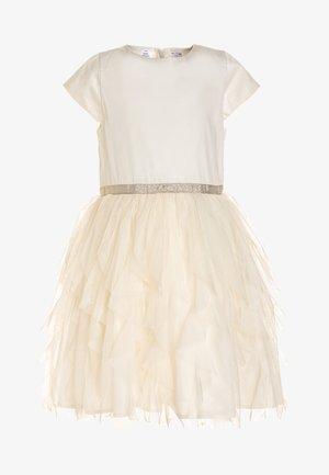 BIG GIRLS WATERFALL DRESS - Vestido de cóctel - white