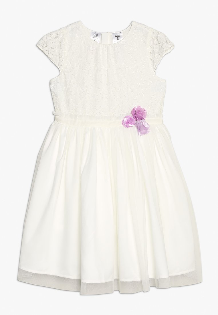 OshKosh - ROSETTE DETAIL DRESS - Cocktail dress / Party dress - white