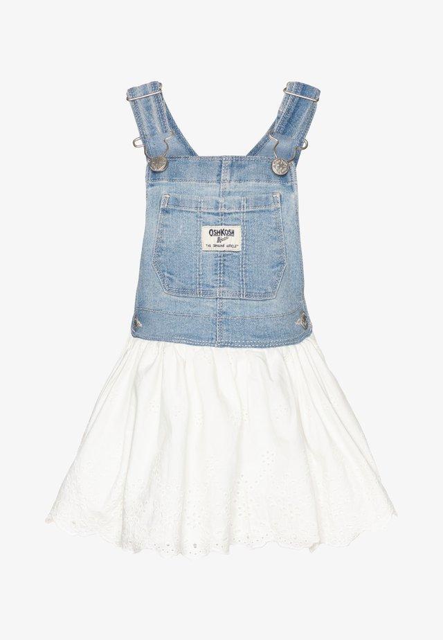 Denimové šaty - denim